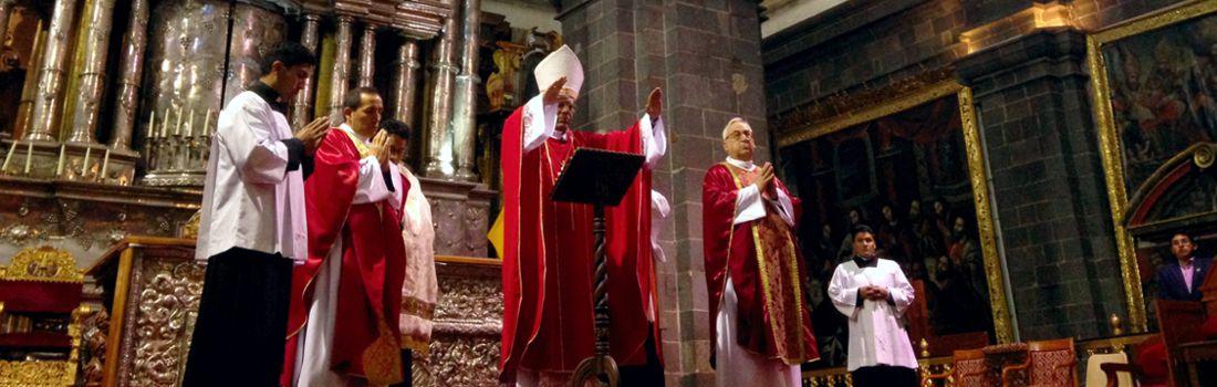 Comunicado del Arzobispo del Cusco por Semana Santa para toda la feligresía Cusqueña
