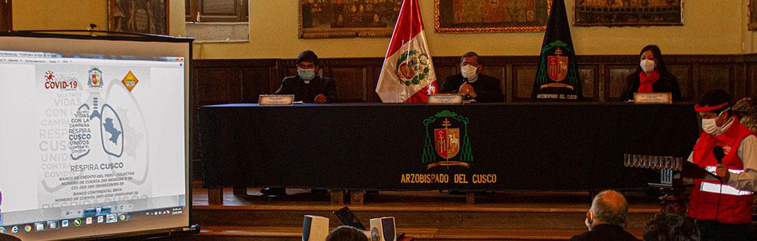 "COVID-19: IGLESIA DEL CUSCO ORGANIZA CAMPAÑA ""RESPIRA CUSCO"" PARA COMPRAR BALONES DE OXÍGENO"