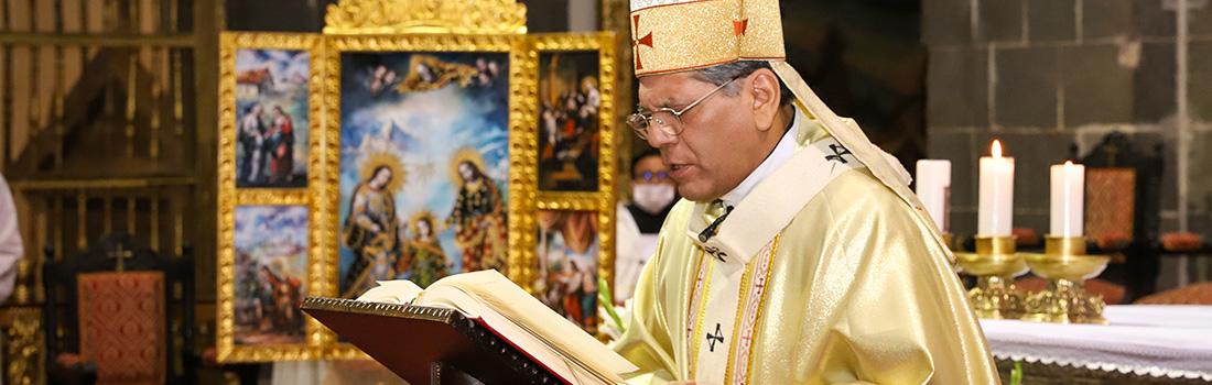 HOMILÍA DEL ARZOBISPO DEL CUSCO POR LA SOLEMNIDAD DEL CORPUS CHRISTI