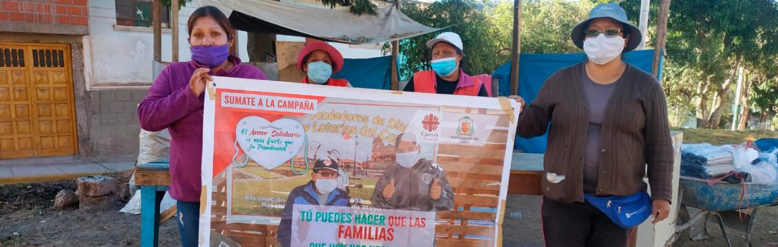 """MÁS DE 4859 FAMILIAS, YA HAN SIDO BENEFICIADAS CON LA CAMPAÑA """"EL AMOR SOLIDARIO ES MÁS FUERTE QUE LA PANDEMIA"""""""