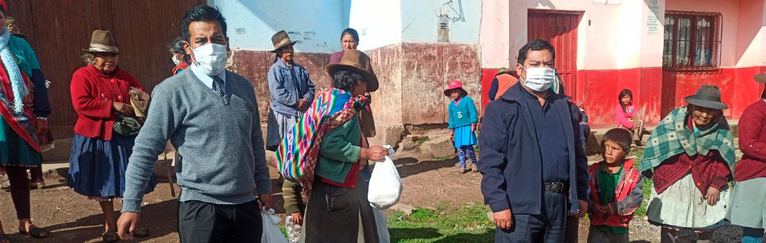 PARROQUIA INMACULADA CONCEPCIÓN DE ANTA LLEVA AYUDA A COMUNIDADES ALEJADAS DE LA PROVINCIA